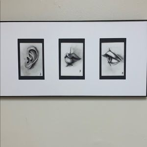 Original Artwork - Hear Speak See No Evil